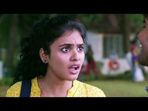 Bhavana (Sukriti) Helps Nookaraju (Parvateesam) in Writing Love Letter Comedy Scene - Kerintha