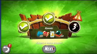 Beat The Daily Challenge King Pig Panic Completed in Angry Birds 2 Tuesday (2)
