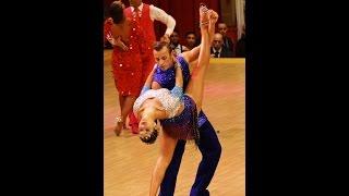 Campeonato de Europa de Bailes de Salón 2015- Julia Ruiz Fernández y Alfonso López