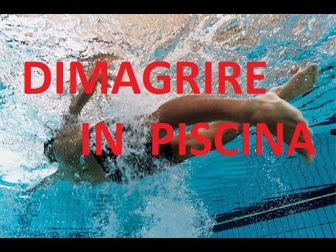 perdere peso col nuoto
