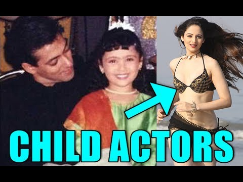 Top 10 Bollywood Child Actors -Then & Now
