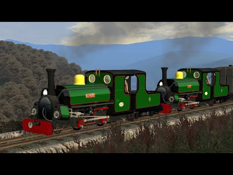 Train Simulator 2020 - Ffestiniog Railway - Double Header With Blanche And Linda