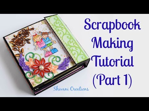 How to make Scrapbook Base/ Friendship Day Scrapbook/ DIY Scrapbook Tutorial Part 1