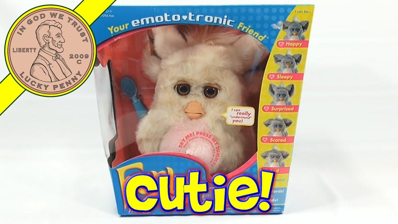 Furby Emoto Tronic Toy 2005 Tiger Furby Is My Friend Youtube