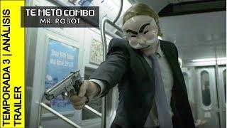 COMENTARIOS   TRAILER DE MR. ROBOT   TEMPORADA 3   ¡ELLIOT REAPARECE!