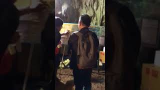 ปากทางเข้าถ้ำหลวง ขุนน้ำนางนอน จ.เชียงราย Tham Luang cave