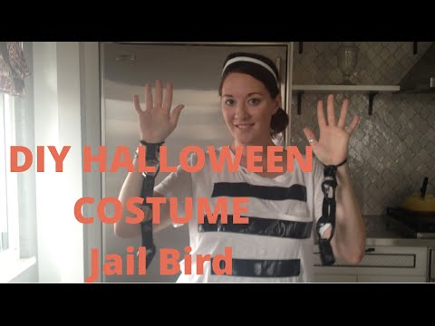 Escaped prisoner diy halloween costume youtube escaped prisoner diy halloween costume solutioingenieria Image collections