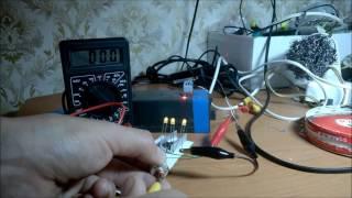 видео Алиэкспресс — стабилизатор тока на lm317