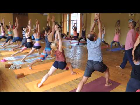 Ashtanga Vinyasa Yoga for Beginners - Series (part 1) - AYM Yoga School