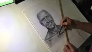 Time Lapse Drawing Guy Leech