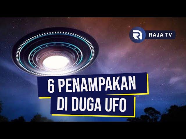 6 Penampakan Benda 'Diduga' UFO yang Pernah Tertangkap Kamera