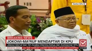 Download Video Breaking News! Berkas Lengkap, Jokowi-Ma'ruf Resmi Daftar Capres-Cawapres #JokowiMaruf MP3 3GP MP4
