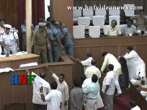 Odisha Legislative Assembly Where Leaders engage themselves in shameful acts