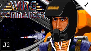 Wing Commander 1 Campaign Gameplay - Christopher Blair Reporting - Part 1