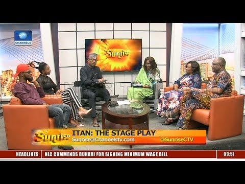 Crew Of 'Itan' Promotes Stage Play As It Opens To Audience |Sunrise|