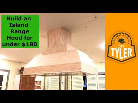Build a Range Hood for under $180