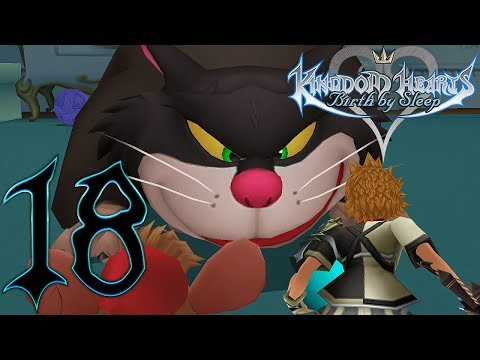 Kingdom Hearts Birth By Sleep Gameplay Walkthrough Part 18 Ventus Castle of Dreams (Let's Play)
