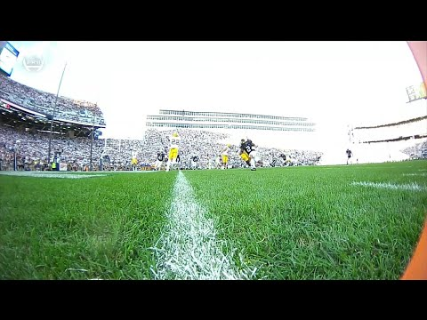 Marcus Allen Gets the Safety vs. Pitt