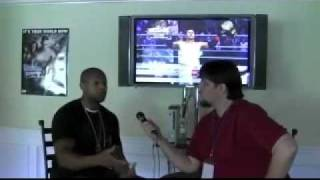 Smackdown Vs Raw 2010 THQ Bryan Williams interview part3