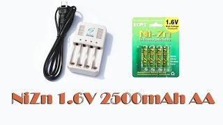 Аккумуляторы NiZn 1.6V 2500mAh AA часть №2 опыт использования