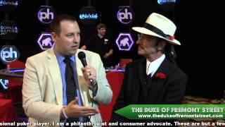 """Phamous Poker Series Goliath: """"The Duke of Fremont Street - The Short Interview"""""""