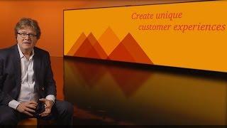 Create unique customer experiences