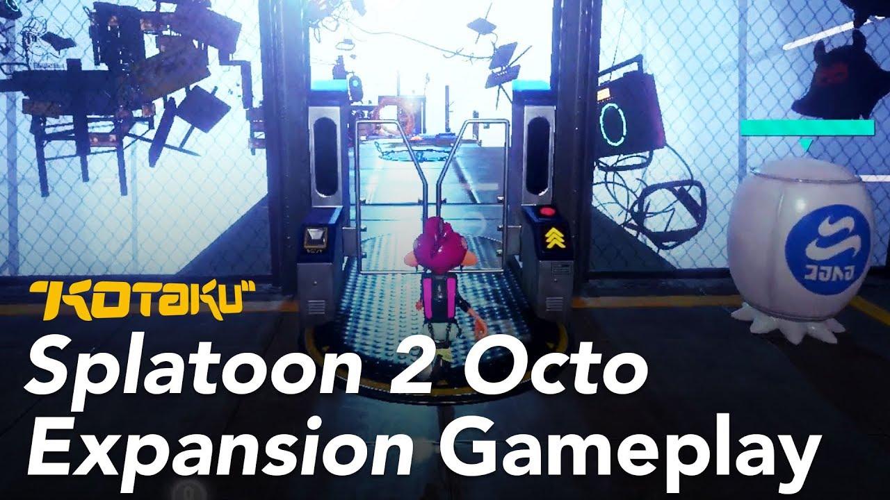 Splatoon 2's Octo Expansion Gameplay