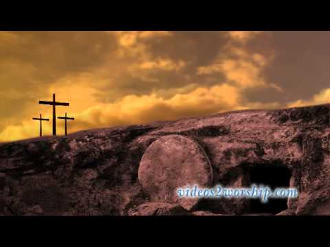 image of empty tomb three crosses on a hill worship background youtube 535