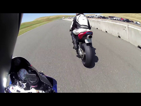 Superbike-Coach Corp B+ On Board BMW S1000RR fast lap Thunderhill West