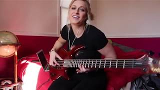 "REVENGE on PookLowEnd:  ""Gilligan's Island"" Theme Song Bass Cover"