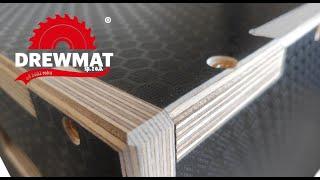 How JUMP BOXES are made with CNC MACHINE? Jak robione są skrzynie plyometryczne - DREWMAT Sp. z o.o.