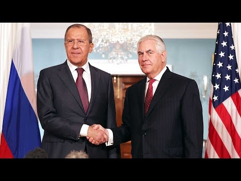 Russian Foreign Minister Lavrov meets Tillerson in Washington