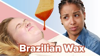 Baixar Women Try Brazilian Waxing For The First Time