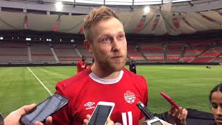 Burnley winger Scott Arfield on his first Canadian call up