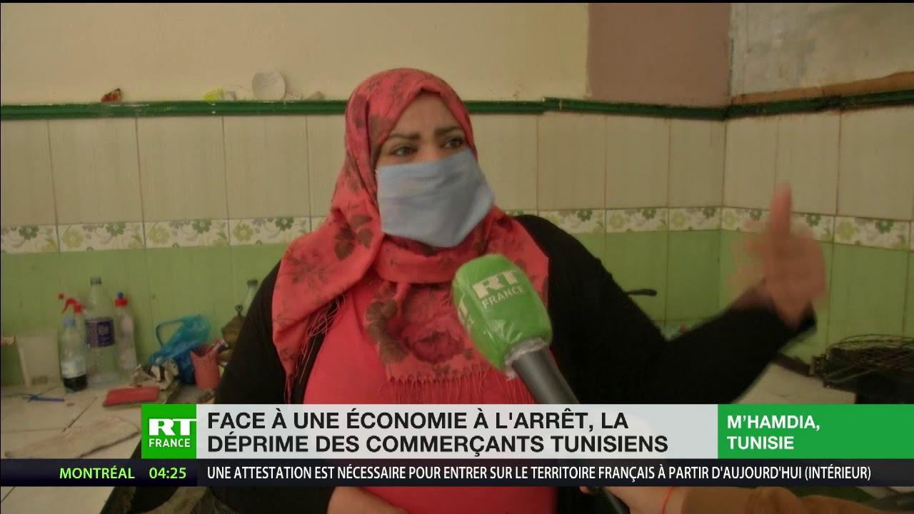 Face à une économie à l'arrêt, des millions de Tunisiens peinent à joindre les deux bouts