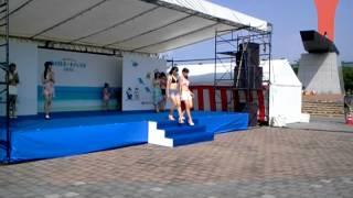 ポートフェスタ2012の中で行われた水着ファッションショーの最後の...