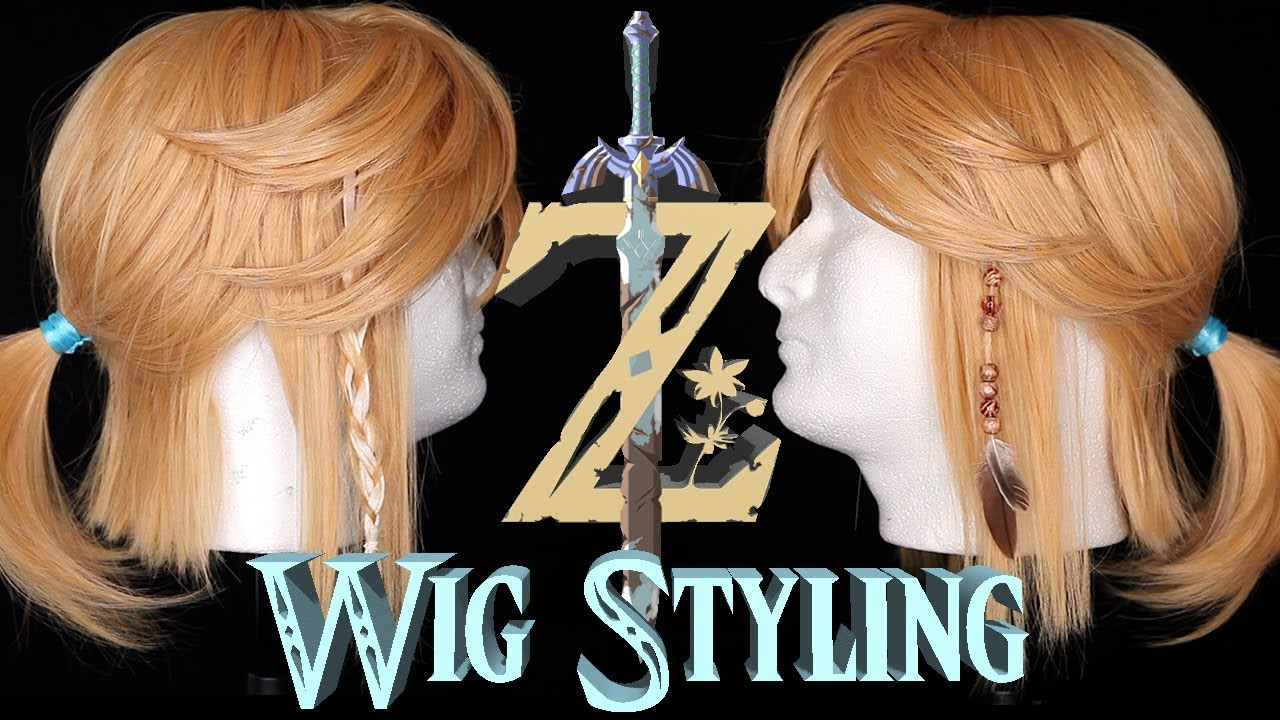 try on a hair style how i styled my link wig wig styling tutorial 2086