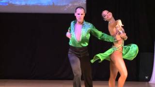 Jose Aranda & Maria vela - Spain- World Latin Dance Cup 2012 - Salsa On 1- Semifinals