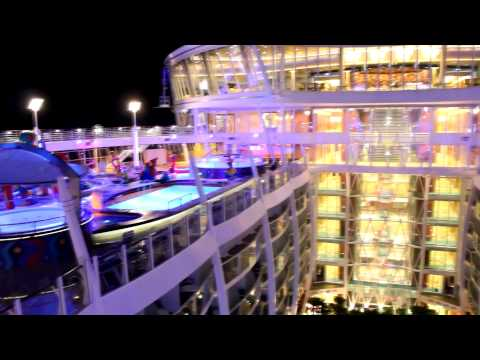 Allure of the Seas Inside & Out