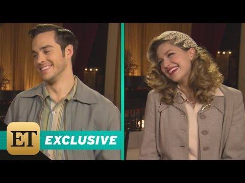 EXCLUSIVE: 'Supergirl' Melissa Benoist & Chris Wood Can't Stop Blushing Over Karamel's Relationsh…