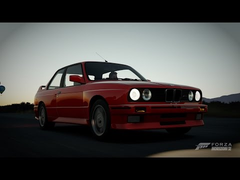 forza horizon 2 1991 bmw e30 m3 gameplay. Black Bedroom Furniture Sets. Home Design Ideas