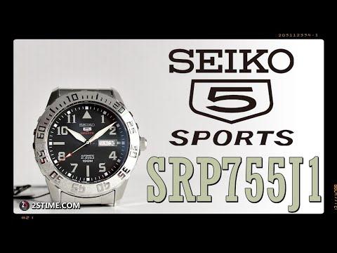 SEIKO 5 Sports SRP755J1 - A Low Budget AVIATOR Watch