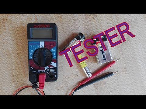 TESTER Controllo batterie