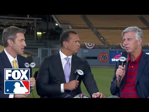 David Dombrowski sits down with the FOX MLB crew after winning the 2018 World Series | FOX MLB