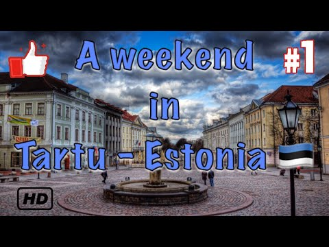 A weekend in Tartu - Estonia 🇪🇪