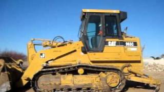CAT 963C Track Loader Training with Eric Sigman