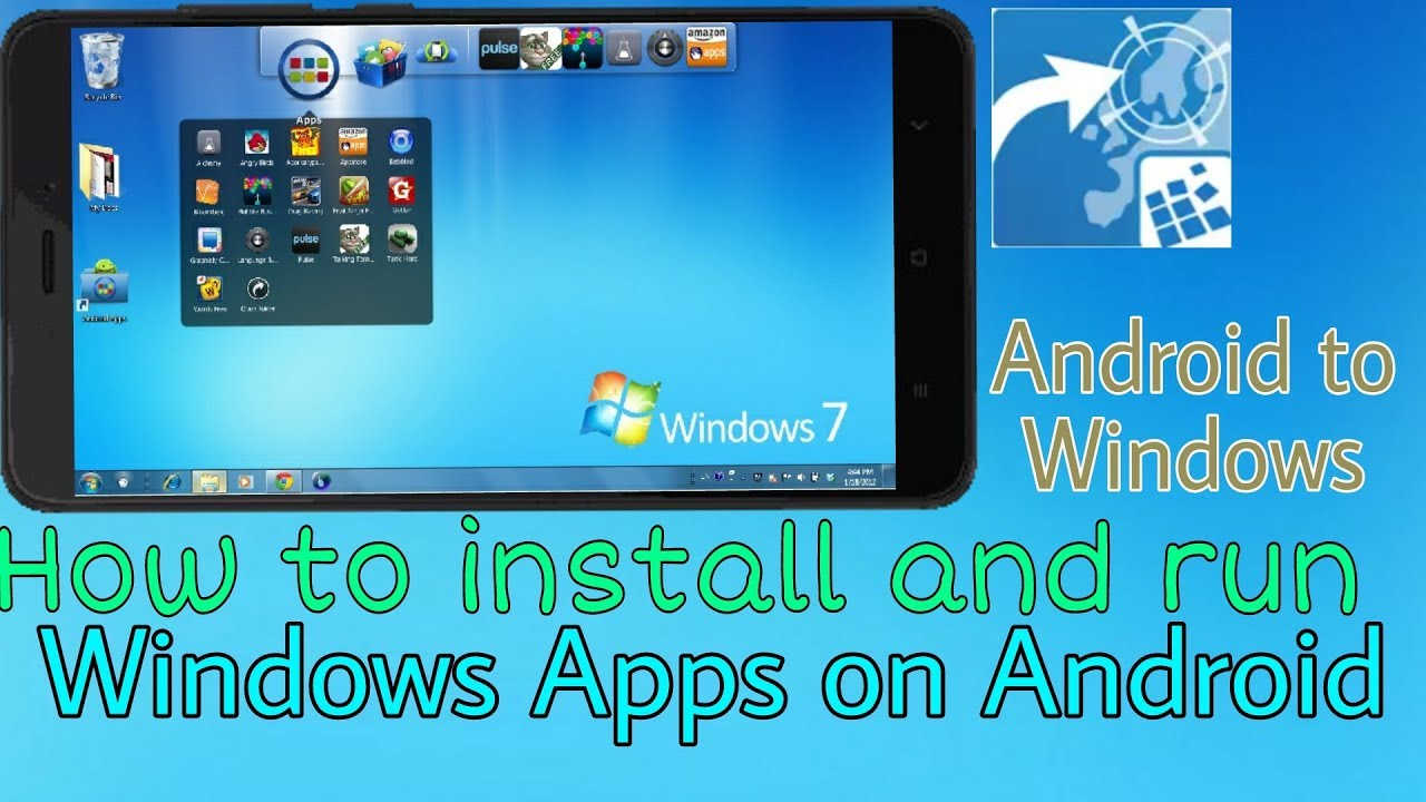 How to use Windows Apps on Android Phone by installing just one app
