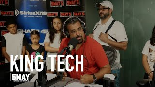 King Tech on His Come Up With Sway on The Wake Up Show + Sway's Niece Raps