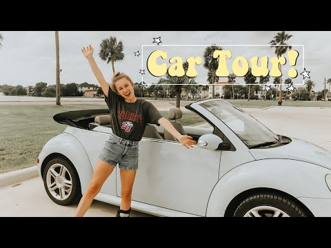 My Volkswagen Beetle Car Tour!