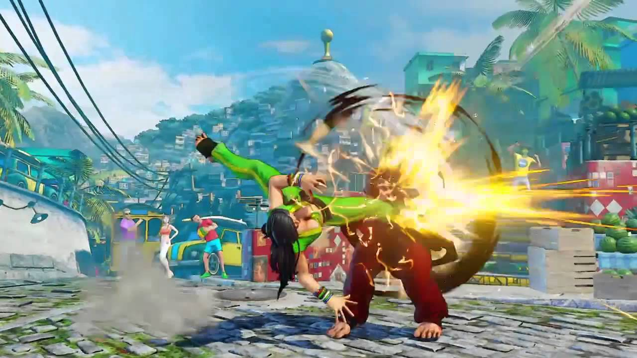 Should 'Street Fighter's' new Brazilian character have
